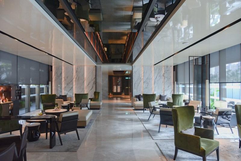 hotel lobby - intercontinental singapore robertson quay