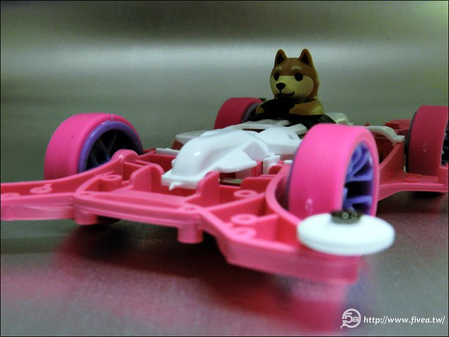 Tamiya Mini 4WD Dog Racer