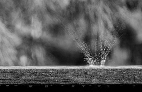 rain on our deck