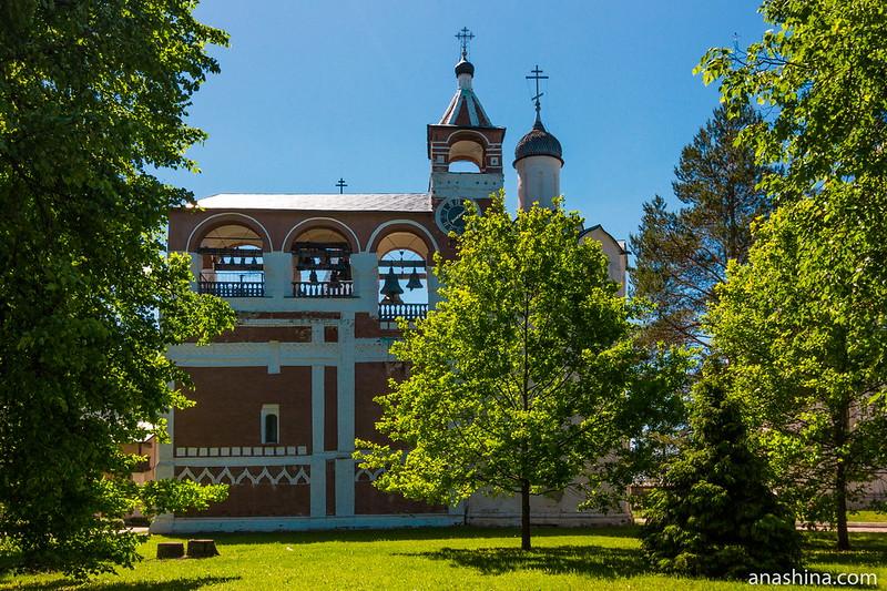 Монастырская звонница, Спасо-Евфимиев монастырь, Суздаль