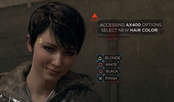 Detroit Become Human - Kara's Hair
