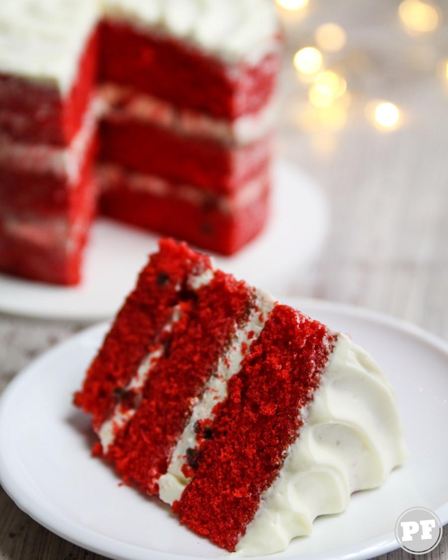 Red Velvet Cake por PratoFundo.com