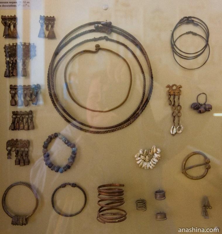 Украшения мерян IX-XI веков, Суздаль