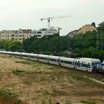 Ostkreuz: Zug auf der S-Bahnstrecke