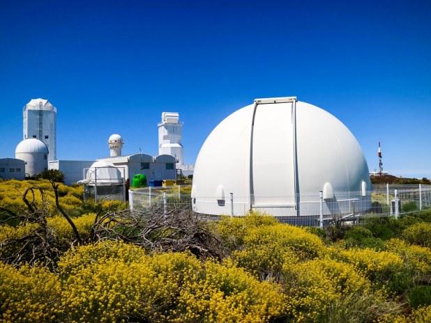 Observatorio en Tenerife
