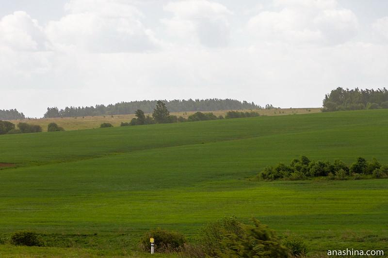 Пейзажи Владимирского ополья