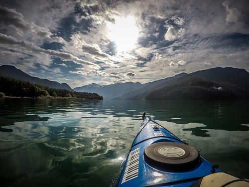 Kayaking on Baker Lake-53