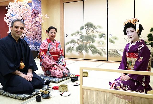 05_Kimono Tea Ceremony Maikoya Osaka