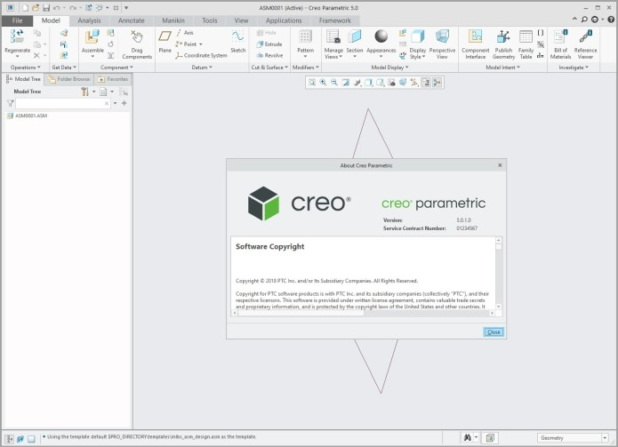 Design with PTC Creo parametric 5.0.1.0 x64 full