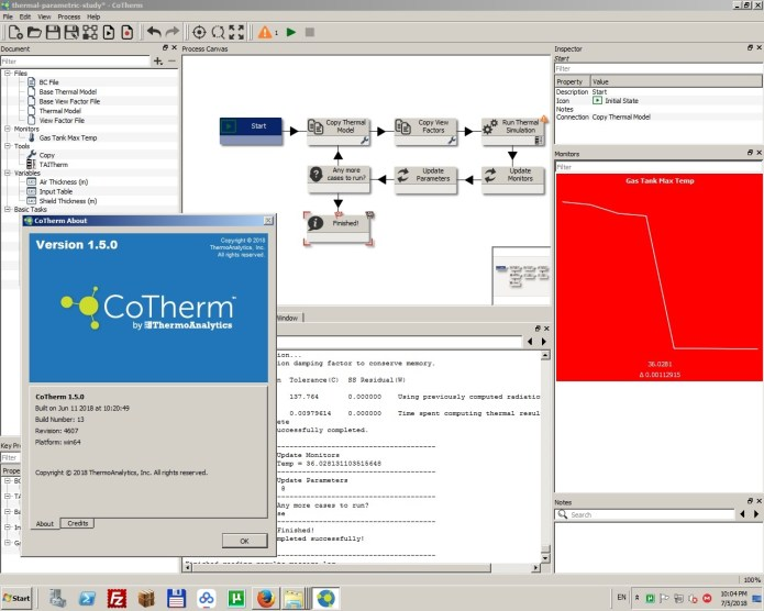Working with ThermoAnalytics CoTherm 1.5.0 x64 full license