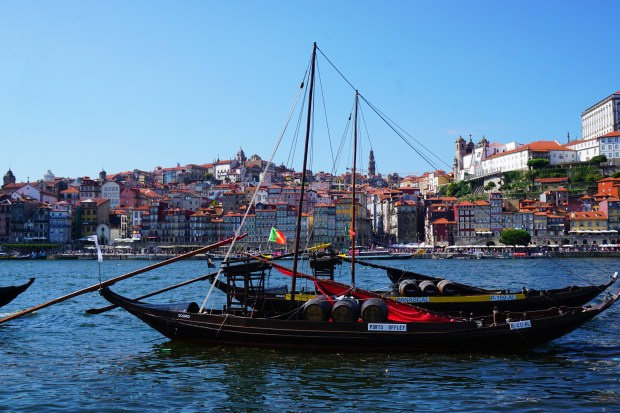 Rebelo boats on the Douro