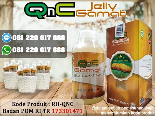 QnC Jelly Gamat - Walatra Jelly Gamat
