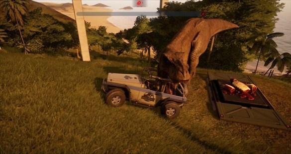 Evolución del mundo jurásico - T-Rex Rampage