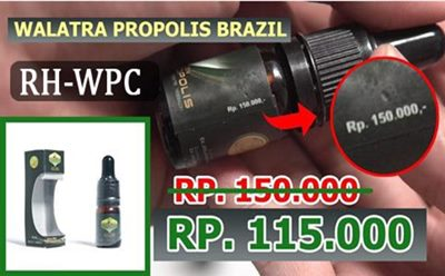 harga promo walatra propolis brazil