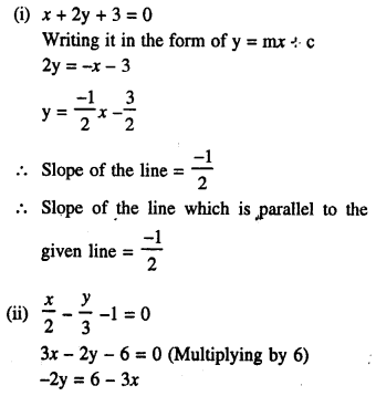 Selina Concise Mathematics Class 10 ICSE Solutions Chapter 14 Equation of a Line Ex 14D 4