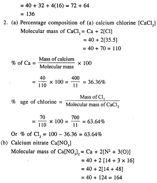 New Simplified Chemistry Class 9 ICSE Solutions - The Language Of Chemistry - 23
