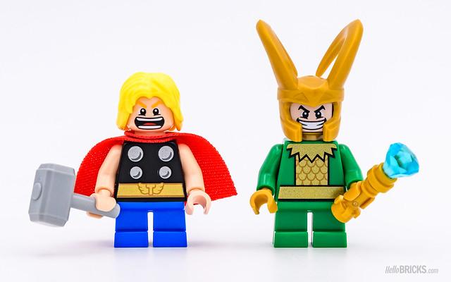 REVIEW LEGO 76091 Marvel Mighty Micros : Thor vs Loki