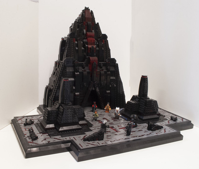 Star Wars Rebels Ancient Temple Sith on Malachor