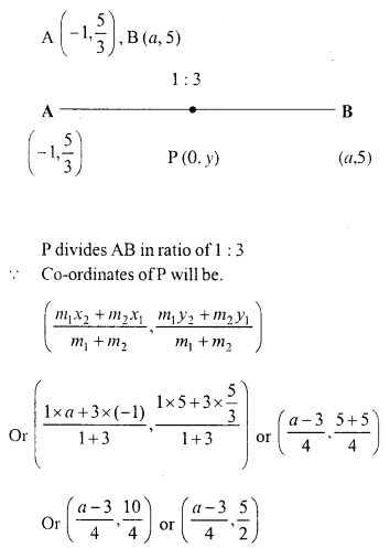 Selina Concise Mathematics Class 10 ICSE Solutions Chapter 13 Section and Mid-Point Formula Ex 13C 5