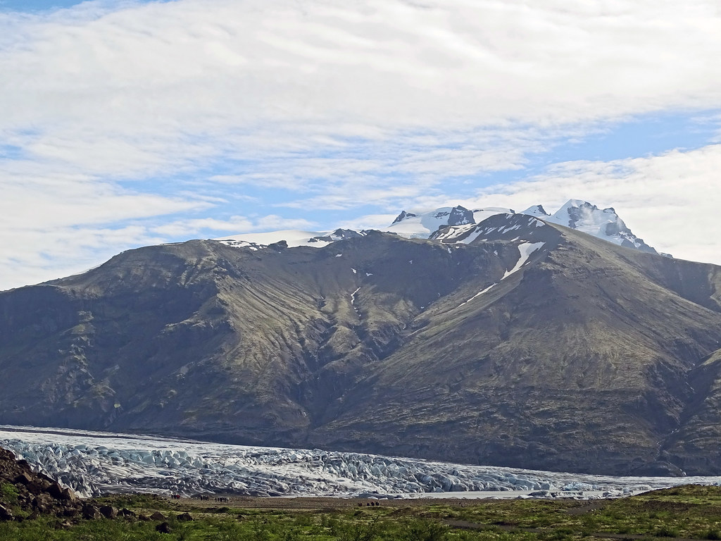 lengua del glaciar Skaftafellsjökull Parque Nacional Skaftafell Islandia 12