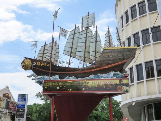 Ruta a pie por Melaka