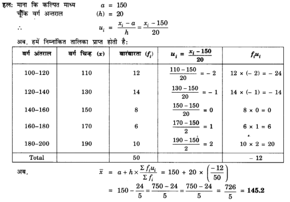 UP Board Solutions for Class 10 Maths Chapter 14 Statistics page 296 2.1
