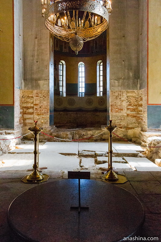 Внутреннее убранство Георгиевского собора, Новгород Великий