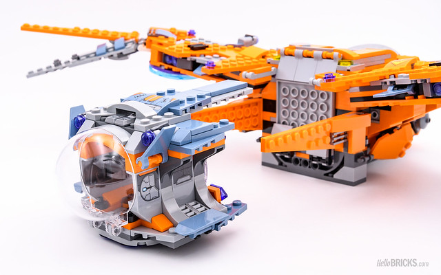 REVIEW LEGO Marvel 76107 Thanos Ultimate Battle 16