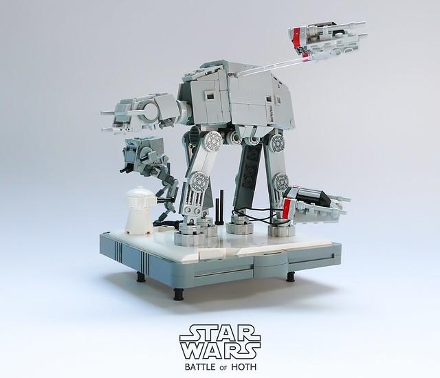 LEGO Battle of Hoth microscale