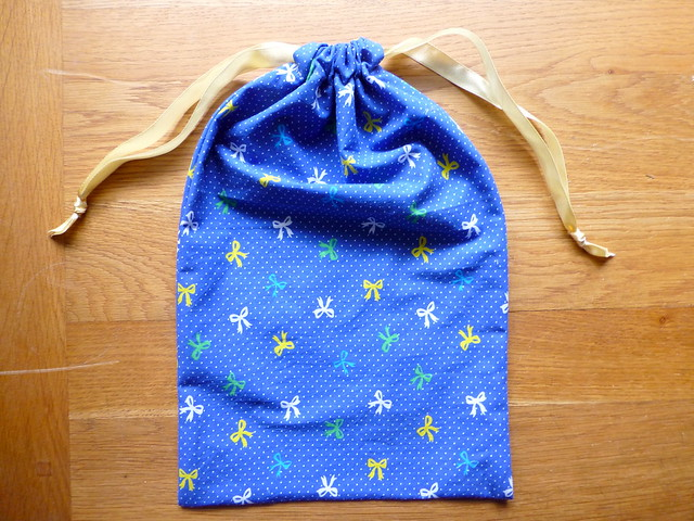 Shared Threads Drawstring Bags