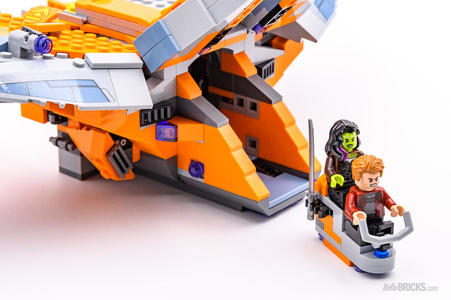 REVIEW LEGO Marvel 76107 Thanos Ultimate Battle 10