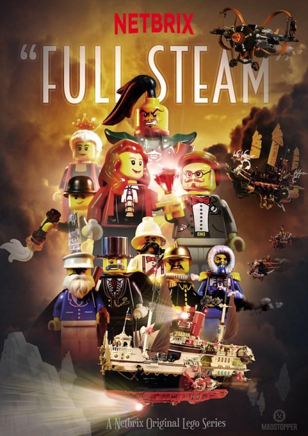 """""""Full Steam"""" Netbrix Poster"""