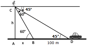 RS Aggarwal Solutions Class 10 Chapter 14 Height and Distance Ex 14a 60