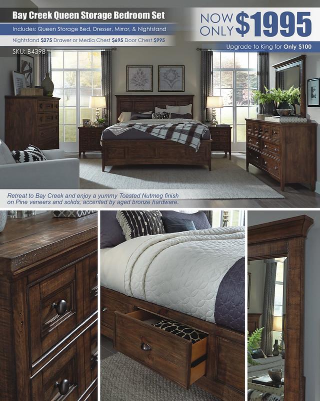 Bay Creek Bedroom Set_B4398_BAY_CREEK_BR_Layout