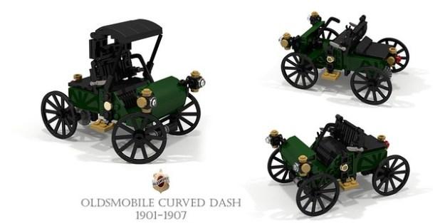 Curved Dash Oldsmobile 1901-1907