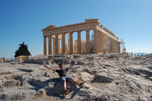 The best view at Parthenon