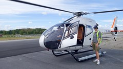 Helicopter tour, Stockholm