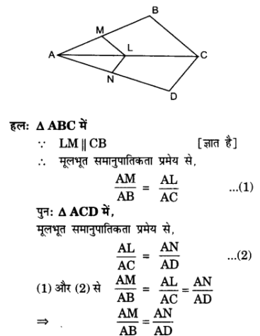 UP Board Solutions for Class 10 Maths Chapter 6 page 142 3