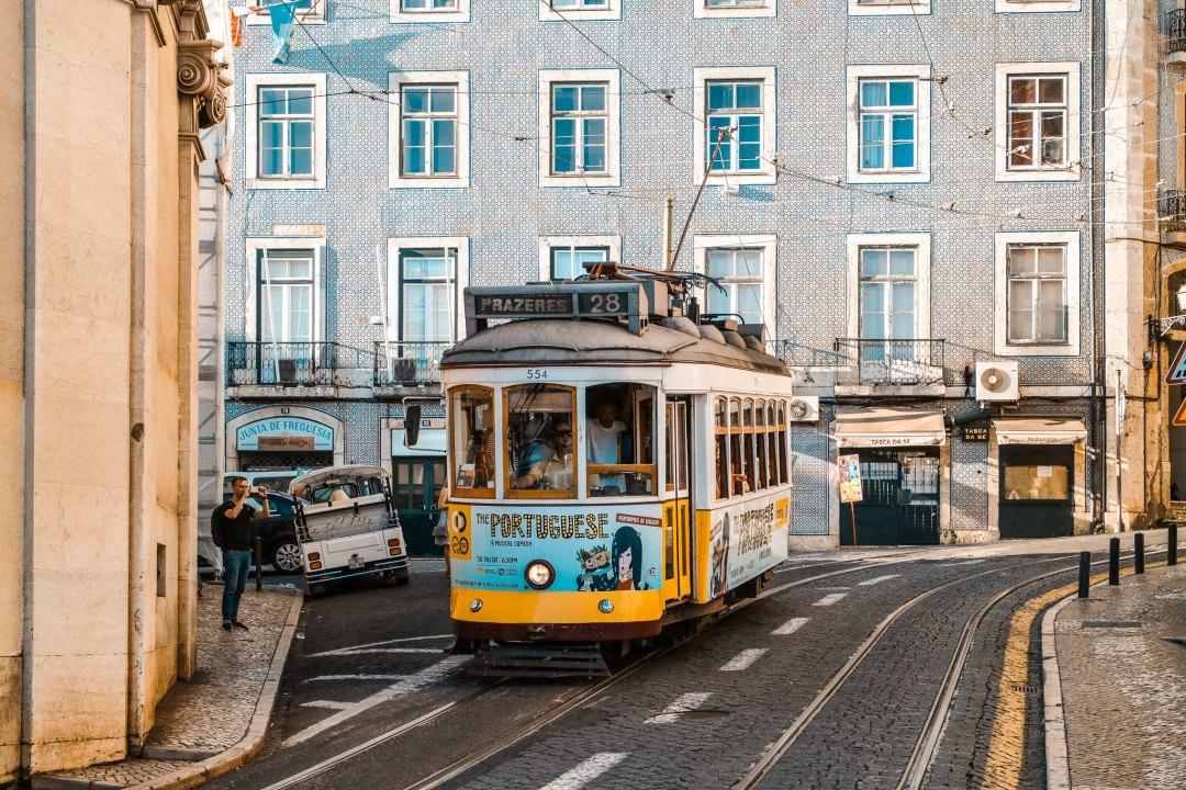 Tram 28, Lisbona