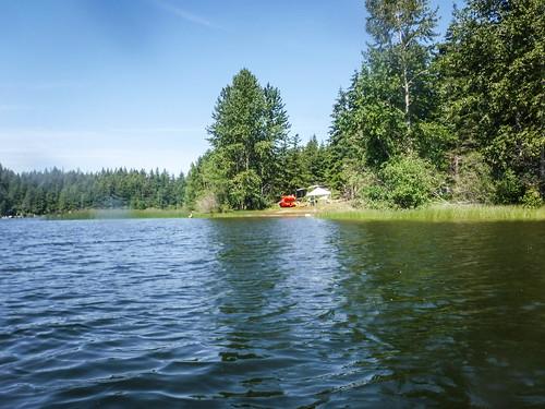 Paddling Lake Padden-024