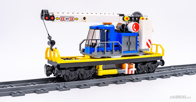 REVIEW LEGO City 60198 Cargo Train Powered Up