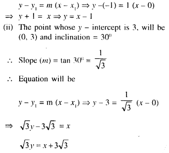 Selina Concise Mathematics Class 10 ICSE Solutions Chapter 14 Equation of a Line Ex 14C 2