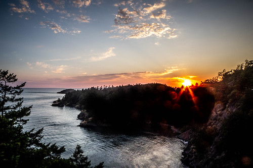 Sunset over Deception Pass-008