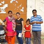 01 family portrait - yoga day - Mathura