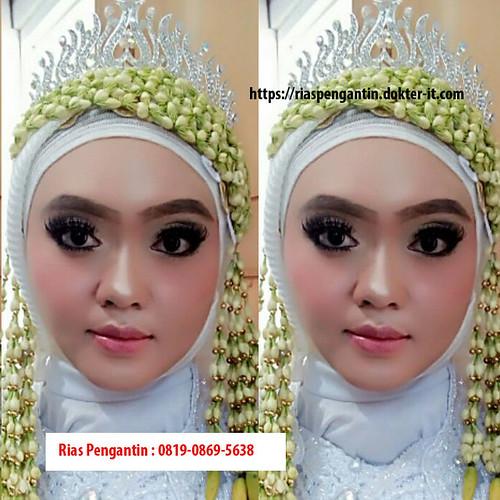 rias pengantin syar'i hijap