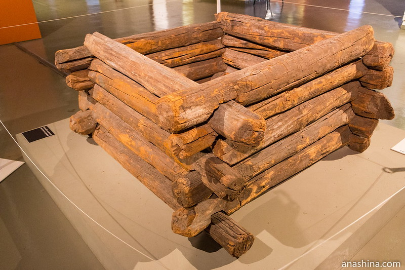 Сруб колодца XV века, Музей Москвы