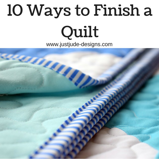 10 Ways to Finish a Quilt