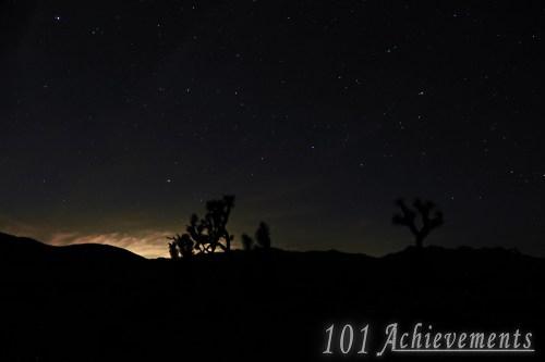 Stargazing at Joshua Tree