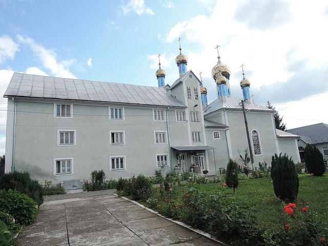 2018 07 Свято-Успенский женский монастырь в с. Домбоки, Закарпатье