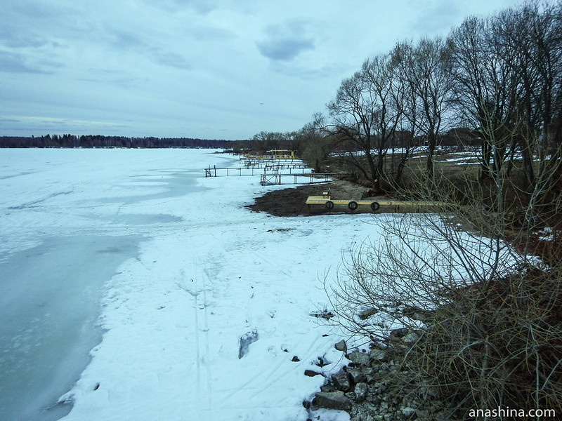Михалёво, Пестовское водохранилище